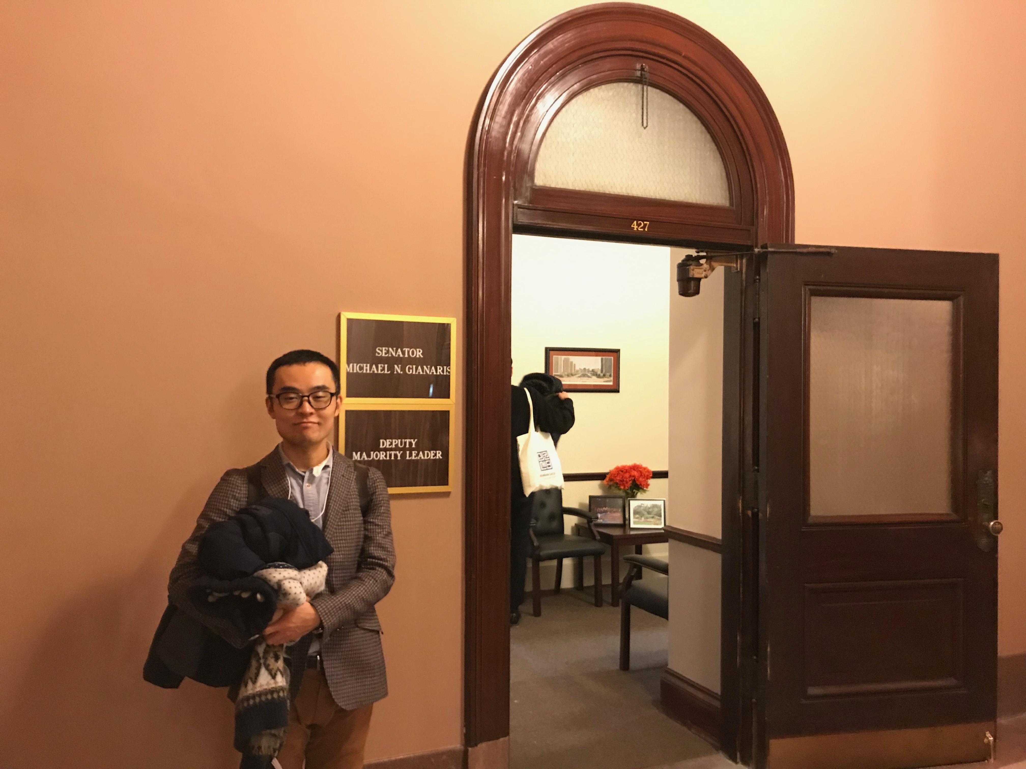 議事堂内の議員控室